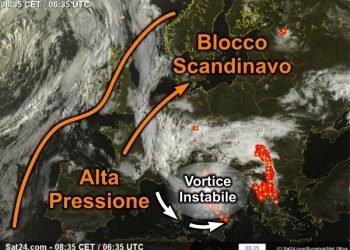 il-vortice-instabile-e-centrato-sull'italia:-temporali-a-non-finire