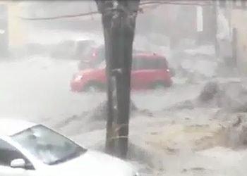 alluvione-genovese,-busalla-travolta-da-acqua-e-fango:-immagini-tremende