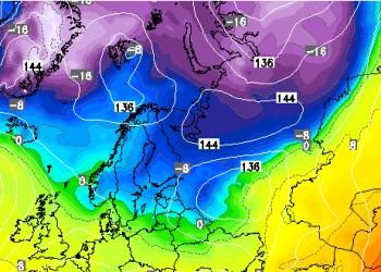 "gelo-artico-invade-la-scandinavia.-minime-negative-a-""doppia-cifra""-e-prima-neve-ad-oslo"