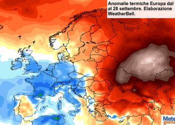 clima-ultimi-7-giorni-in-europa:-fresco-ad-ovest,-super-caldo-ad-est