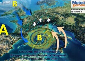 arriva-il-super-maltempo-sull'italia:-nubifragi-e-tanta-neve-sui-monti.-meteo-perturbato
