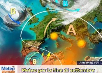 meteo-estivo-di-fine-settembre,-avvio-ottobre-con-rischio-forte-maltempo