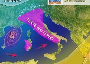 """meteo-aggiornamenti-""""forte-maltempo-del-weekend"""":-ecco-le-aree-che-saranno-piu-colpite"""