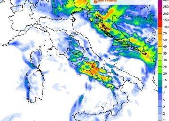 meteo-sabato:-ulteriori-forti-temporali.-ecco-le-zone-piu-colpite