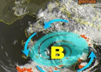 vortice-di-bassa-pressione-al-centro-sud:-si-scatenano-temporali-e-nubifragi