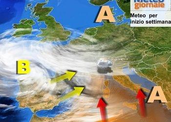 meteo,-maltempo-andra-in-crescendo-in-settimana:-tornano-piogge-e-temporali