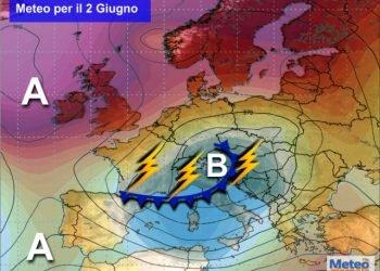 meteo-capriccioso-anche-ad-inizio-giugno:-nuovi-temporali-non-solo-al-nord