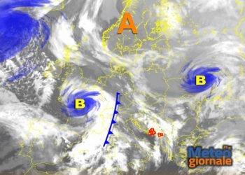 tempesta-su-ovest-europa,-ma-quella-che-raggiungera-l'italia-e-ancora-in-atlantico