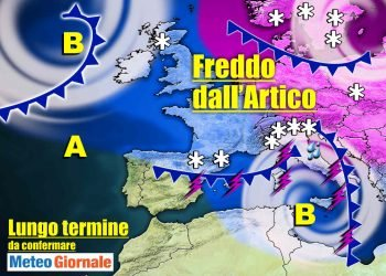 meteo-15-giorni,-l'inverno-mostrera-subito-i-muscoli-con-freddo-e-neve