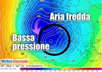 meteo-settimana-prossima:-forte-area-ciclonica-sul-mediterraneo-occidentale