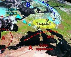 resiste-il-caldo,-contrasti-termici-aprono-la-danza-dei-temporali-sul-nord-est