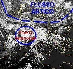 depressione-sull'ovest-europa:-aria-umida-e-prime-precipitazioni-sul-nord-italia