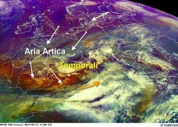 aria-artica-inizia-a-sfondare-sul-mediterraneo:-gli-effetti-visti-dall'alto