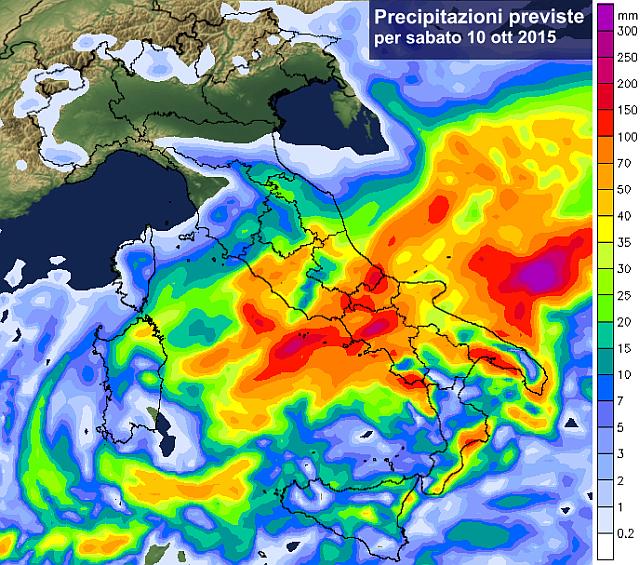 ciclone mediterraneo nel week end conferme su maltempo 40355 1 1 - Ciclone Mediterraneo nel week-end, conferme su forte maltempo