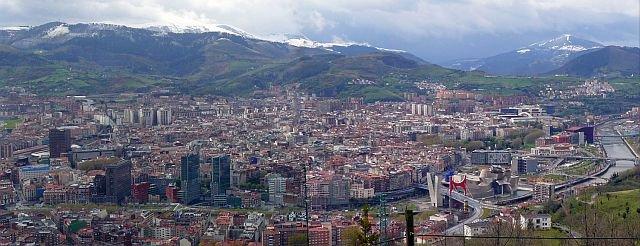 Panorama invernale di Bilbao, da wikipedia