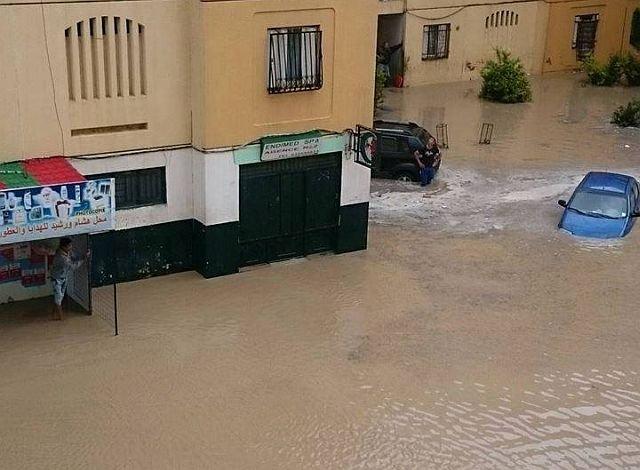Inondazioni nella provincia di Medea
