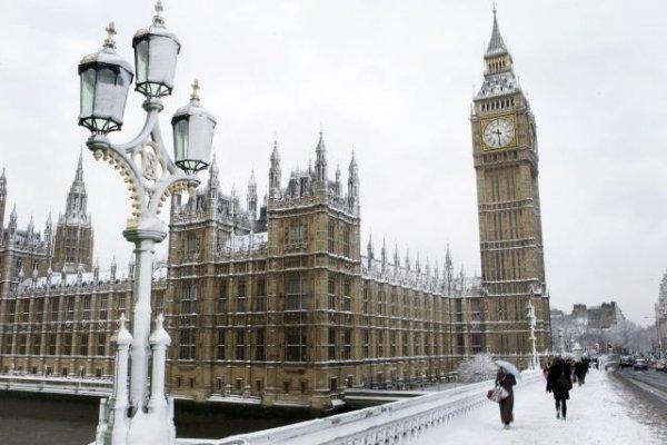 Londra innevata? Un paesaggio che sta diventando abituale negli ultimi inverni.