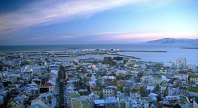Reykjavik, la terza capitale più fredda al mondo, la prima tra quelle sul mare