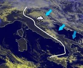 Immagine satellitare, fonte http://meteo.cesi.it.