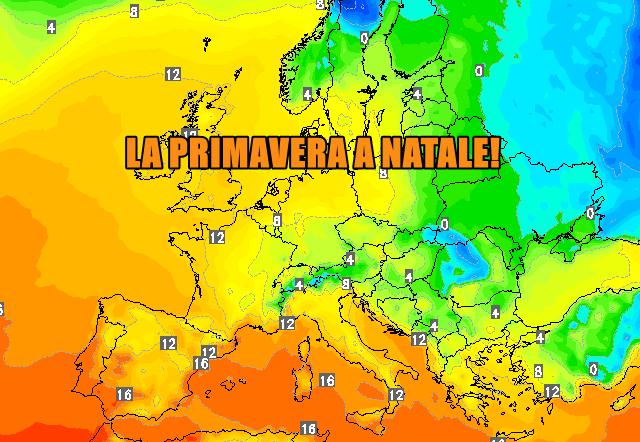 primavera natale europa 45744 1 1 - La Primavera a Natale! Ci sarà l'inverno a Pasqua?