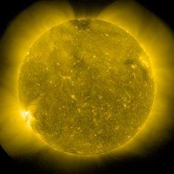 Ultima immagine solare fonte NASA